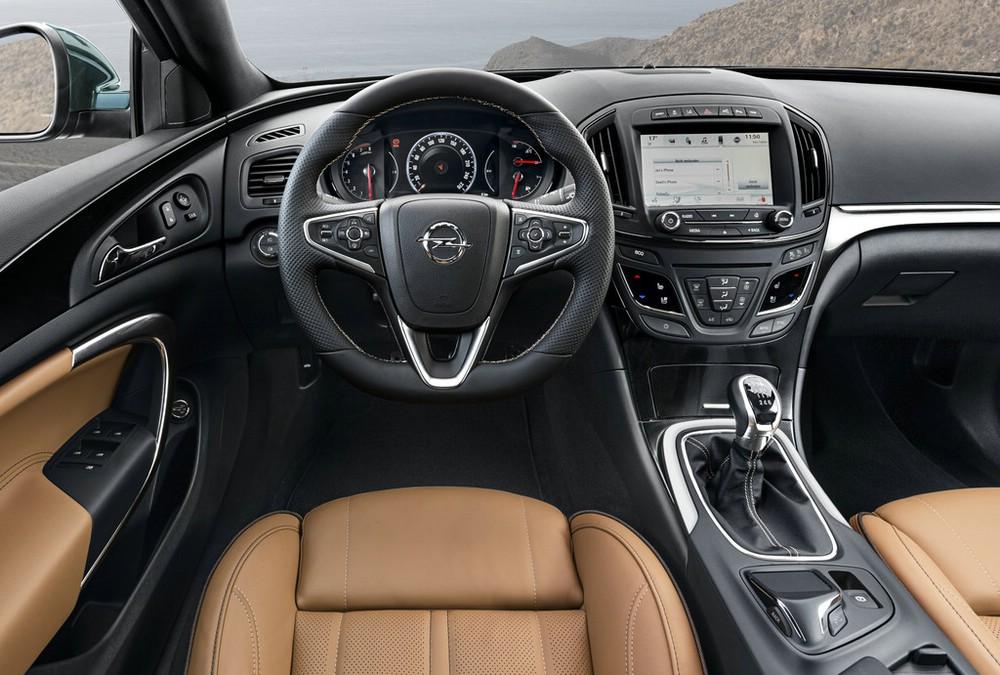 Galerie: Der Innenraum des überarbeiteten Opel Insignia ...