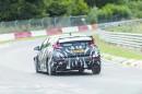 Getarnter Honda Civic Type R auf der Nürburgring-Nordschleife
