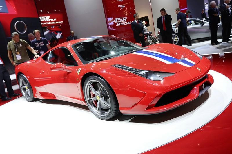 Ferrari 458 Speciale auf der Frankfurter Automobilmesse IAA 2013