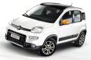 Fiat Panda 4x4 Antartica in weiß mit schwarzem Dach