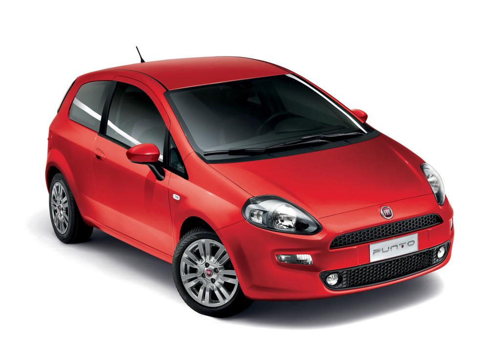 Sondermodell Fiat Punto Street in der Karosseriefarbe rot
