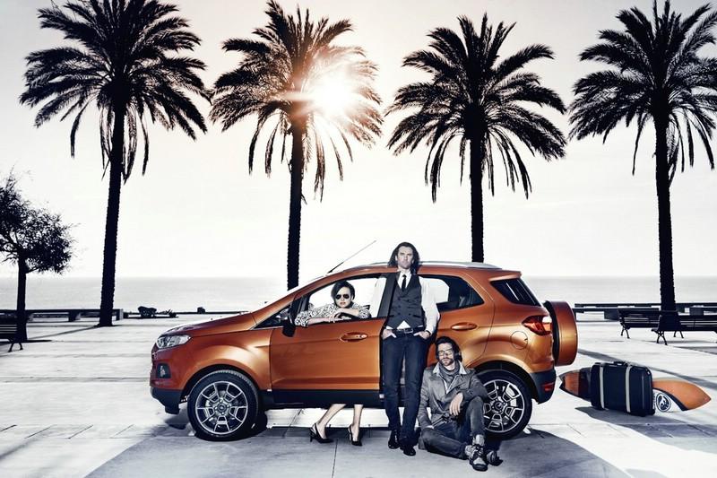 Ford Ecosport als limitierten Edition in der Seitenansicht