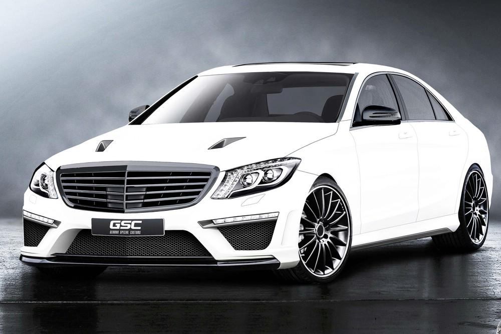 Tuning für die neue Mercedes-Benz S-Klasse W222 von German Special Customs