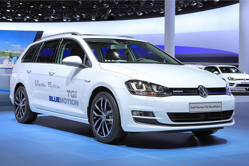 Volkswagen Golf Variant TGI BlueMotion mit Erdgasantrieb