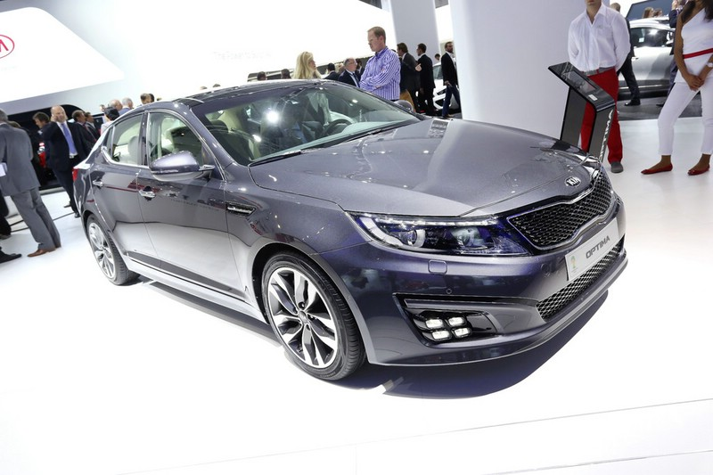 Kia Optima Facelift auf der Internationalen Automobil-Ausstellung 2013