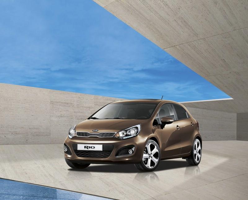Der Kleinwagen Kia Rio als Sonderedition Platinum Edition