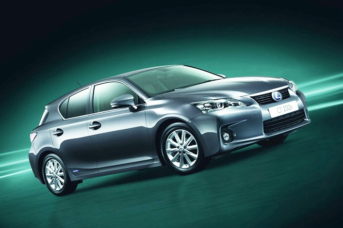 Lexus CT 200h als Sondermodell Selection