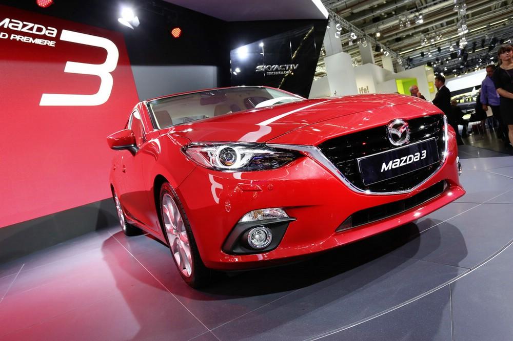 Mazda3 auf der Frankfurter Automesse IAA 2013
