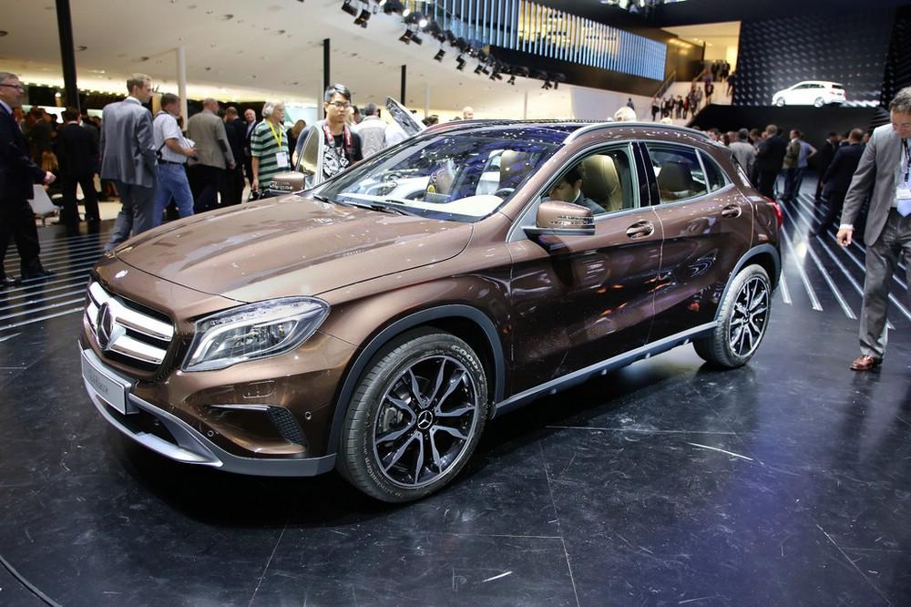Mercedes-Benz GLA auf der Internationalen Automobil-Ausstellung 2013