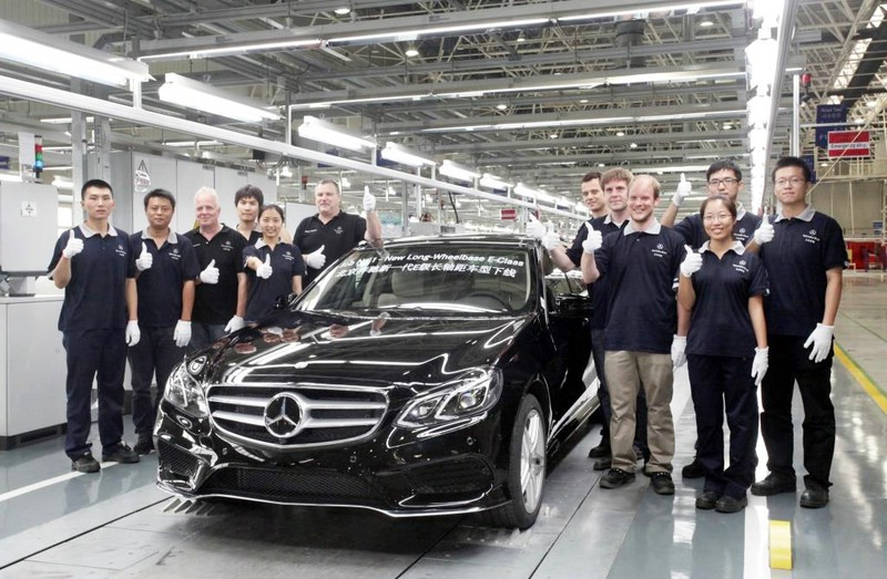 Die Mercedes E-Klasse in der Langversion