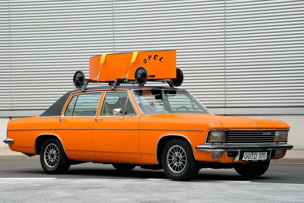 Der Opel Klassiker Diplomat B in orange