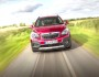 Roter Opel Mokka 1.4 Turbo 4x4 in der Frontansicht