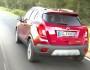 Opel Mokka 1.4 Turbo 4x4 in rot von hinten