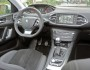 Das Cockpit, Mittelkonsole, Navi des Peugeot 308 1.6 l e-HDi
