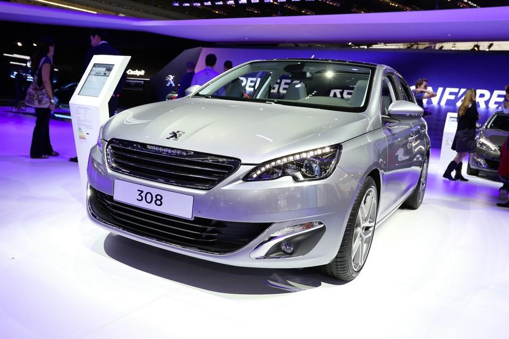 Peugeot 308 auf der Internationalen Automobil-Ausstellung 2013