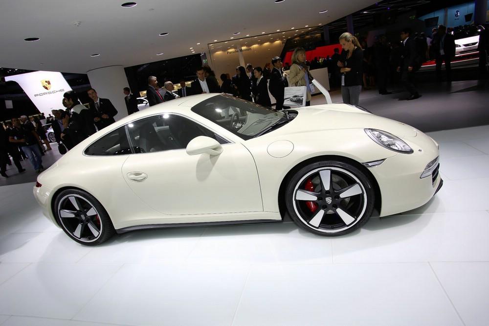 Porsche 911 50Jahre auf der Frankfurter Automobilmesse IAA 2013