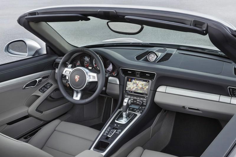 Das Bose-Soundsystem im Porsche 911 Turbo Cabriolet
