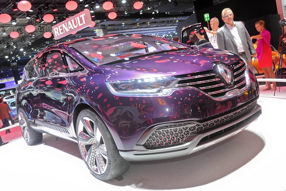 Renault Initiale Paris auf der Internationalen Automobil-Ausstellung 2013