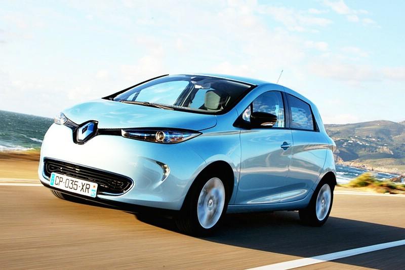 Renault Zoe als erstes Elektroauto mit fünf Sternen.