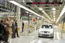 Produktionsstart bei Saab in Schweden
