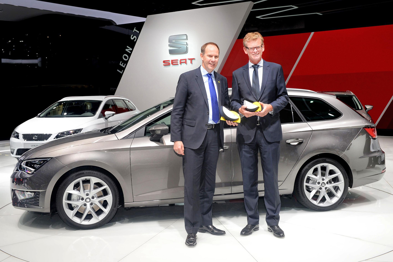 Der neue Seat Leon ST wird ausgezeichnet