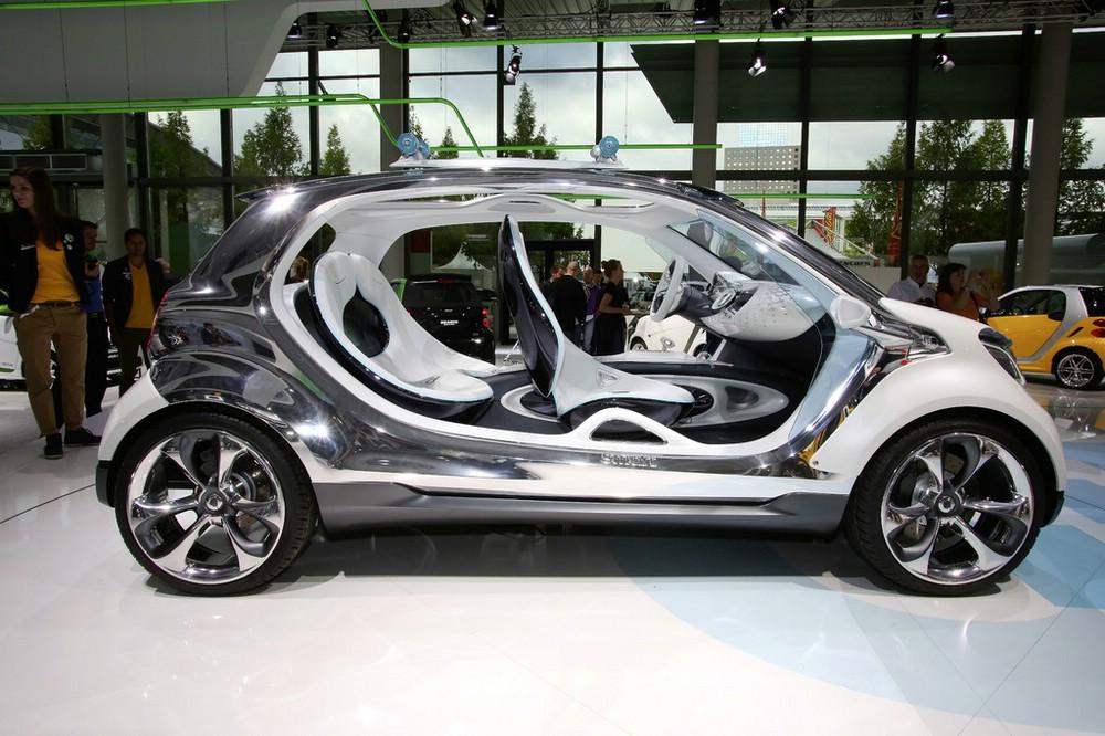 Smart Fourjoy auf der Frankfurter Automobilmesse IAA 2013