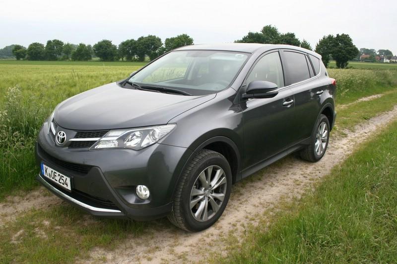 Das Kompakt-SUV Toyota RAV4 wird ab 2016 auch in Russland produziert