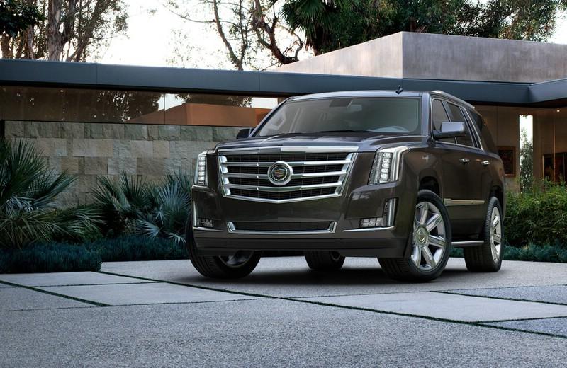 Cadillac Escalade Modellgeneration 2014 in schwarz