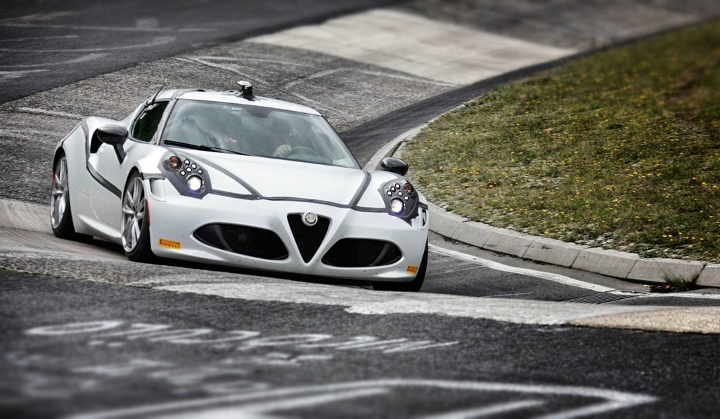 Coupe Alfa Romeo 4C auf der Nürburgring-Nordschleife