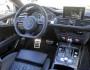 Das Cockpit und die Mittelkonsole des Audi RS 7 Sportback