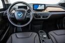 Das Blickfeld des BMW i3 Fahrers