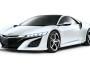 Honda NSX CONCEPT in weiß in der Frontansicht