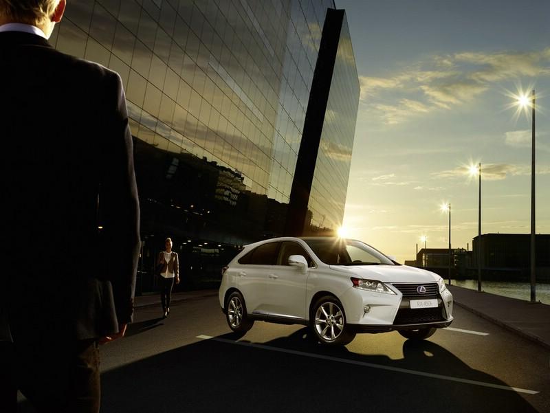 Die Frontpartie des Lexus-Sondermodells RX 450h Limited Edition