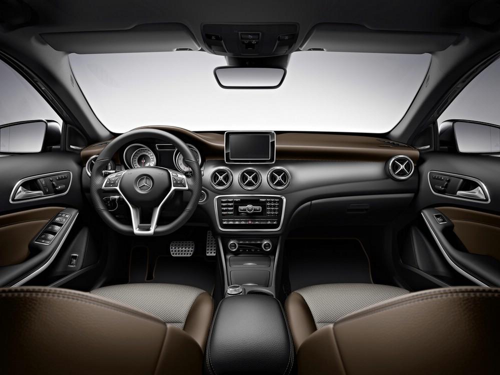 Der Innenraum des Mercedes-Benz GLA Edition 1