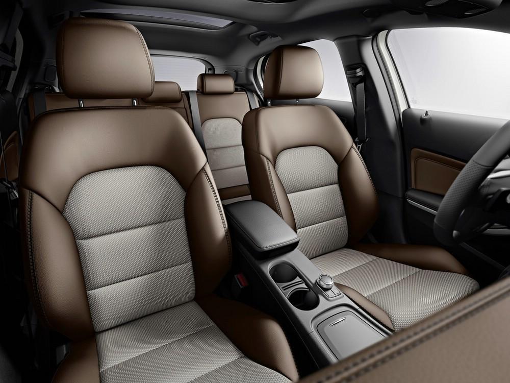 Die Ledersitze des Mercedes-Benz GLA Edition 1