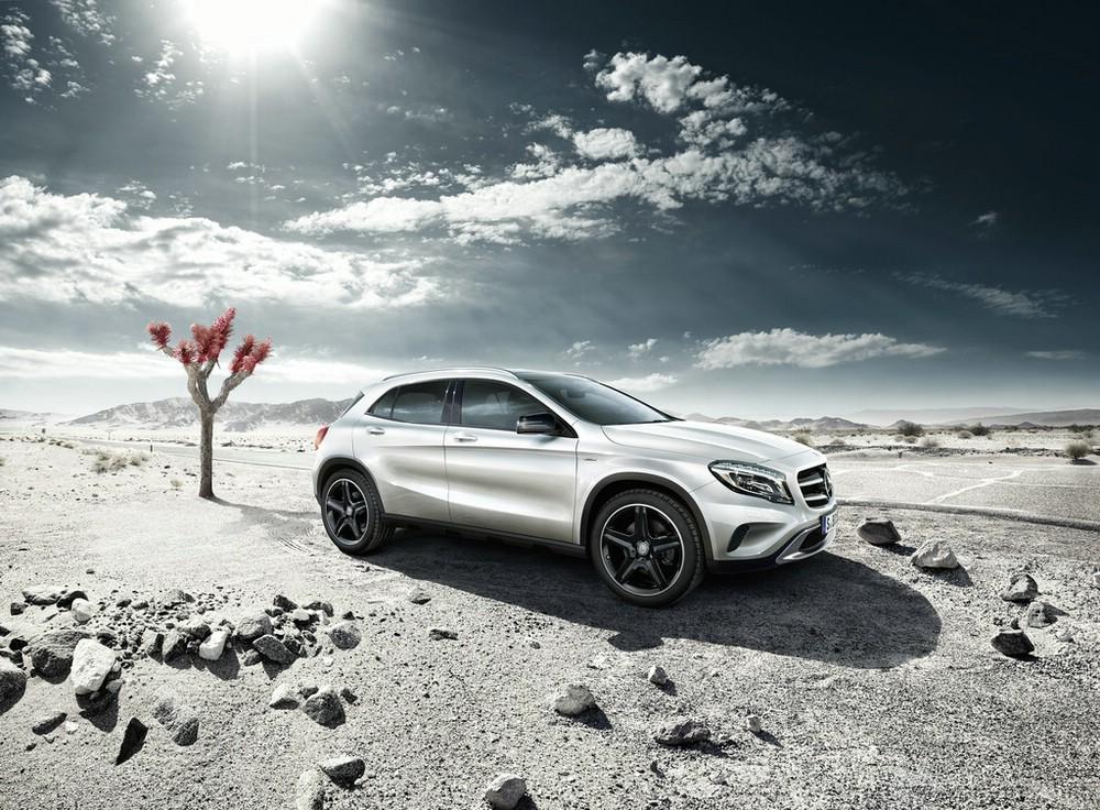 Mercedes-Benz GLA Edition 1 Exterieur Aufnahme