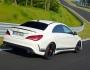 Außenaufnahme Mercedes CLA 45 AMG Edition 1
