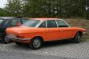 Der Wankel NSU Ro 80 in der Farbe orange