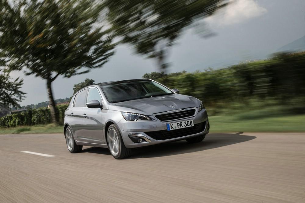 Peugeot 308 mit dem neuen Blue HDI Dieselmotor