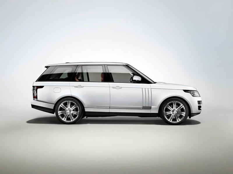Range Rover Autobiography Black in der Seitenansicht