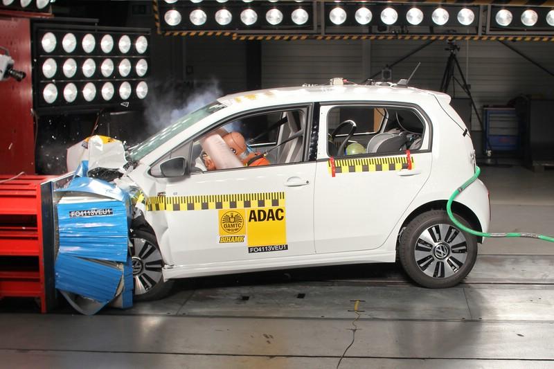 Das Elektroauto VW e-up im Adac Crashtest