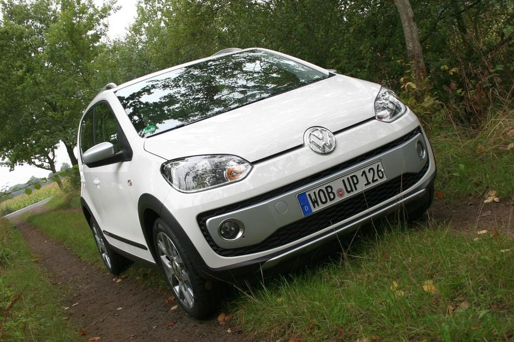 Volkswagen Cross-Up Baujahr 2013 in weiß