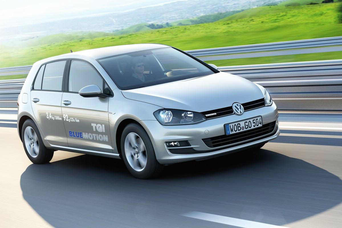 Erdgasantrieb für Volkswagen Golf TGI BlueMotion