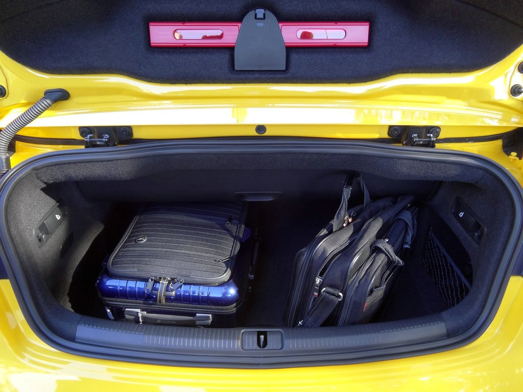 Audi A3 Cabrio Kofferraum