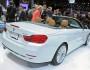 Die Heckpartie des BMW 4er Cabriolet