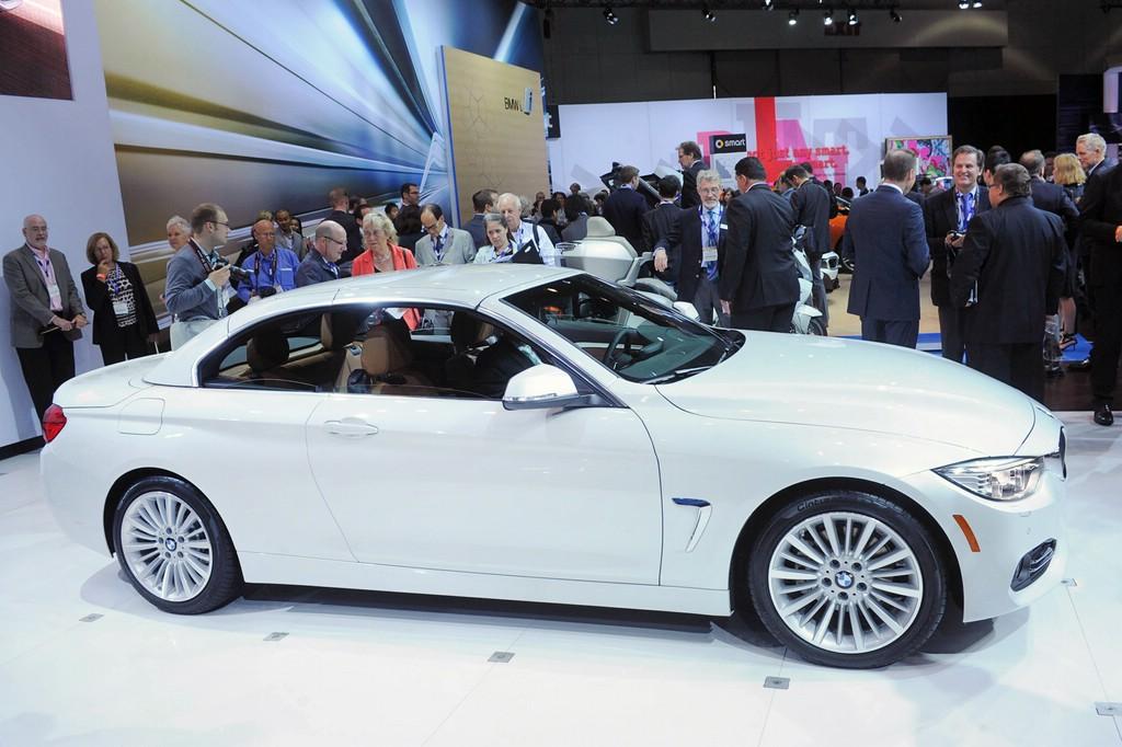 BMW 4er Cabriolet mit Hardtop in weiß