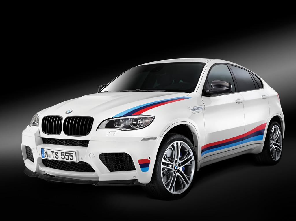 Die Frontpartie des BMW X6 M Design-Edition