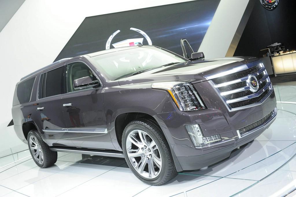 Cadillac Escalade auf der LA Automesse 2013