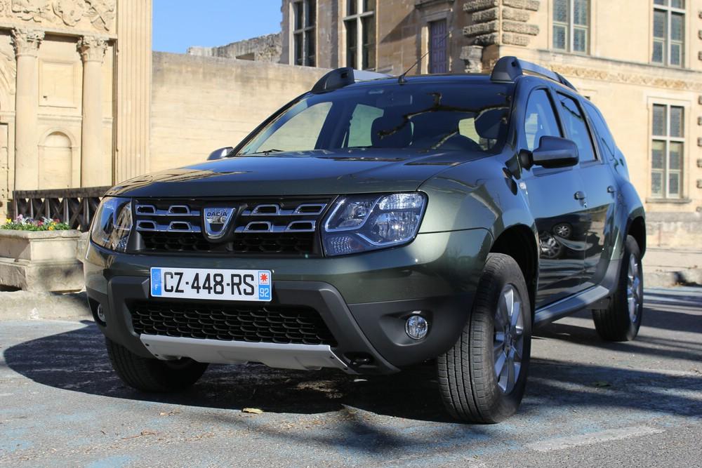 Die Frontpartie des Dacia Duster Facelift