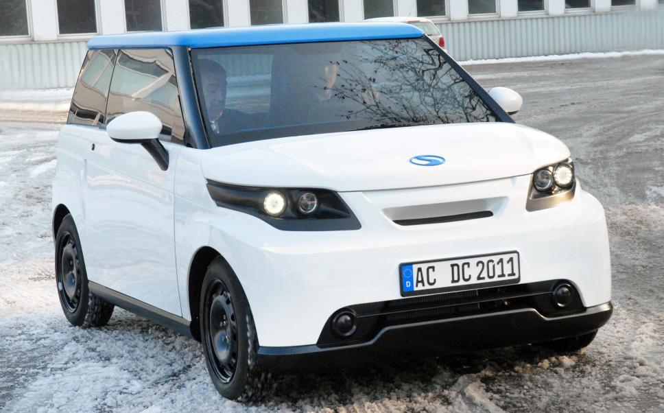 Der Streetscooter ist ein Elektroauto der deutschen Post